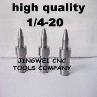Hohe qualität hartmetall fluss drill America system UNC 1/4-20 (5,7mm) rund, fdrill bit für edelstahl