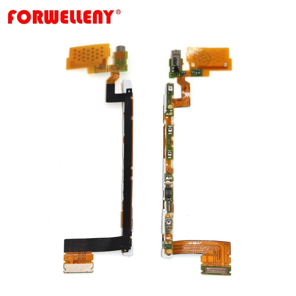 For Sony Xperia Z5 E6653 E6633 E6603 E6683 Power Button Switch On Off Flex Cable  Vibrator Ribbon Parts