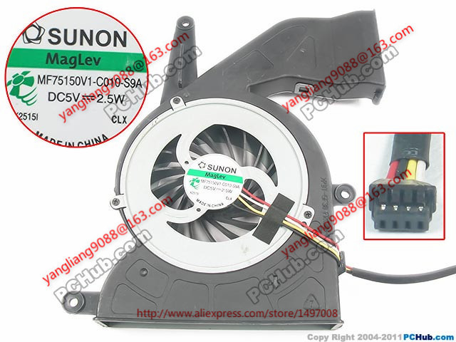 SUNON MF75150V1-C010-S9A DC 5V 2.5W  70mm  Server   fan доска для объявлений dz 5 1 j9c 037 jndx 9 s c