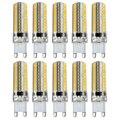 10X G9 8 W Conduziu 2835SMD Cápsula Lâmpada Lâmpadas Luz Bulbo Substituir Halogênio 200-240 V Cor Principal: Cool White Potência: G9 8 W Pode Ser Escurecido