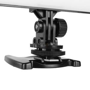 Image 5 - YONGNUO YN300 powietrza 3200 K 5500 K panel światła led wideo z zasilanie prądem zmiennym Adapter na ślub fotografia wideo