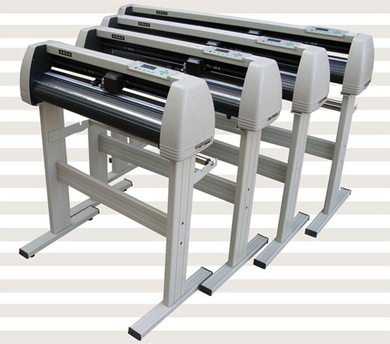 white stainless materialYHVinyl Cutter Plotter speed 10 800mm s CE certfited Vinyl Cutting Plotter