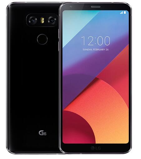 Разблокированный LG G6 4G Оперативная память 32G/64 Встроенная память 13MP 5,7 ''4 аппарат не привязан к оператору сотовой связи мобильного телефона с одной Sim-картой H870 H871 H872 H873 VS988 Dual sim H870DS - Цвет: black