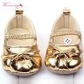 WEIXINBUY bebé niño bebé niña suave suela de Prewalker cuna Zapatos