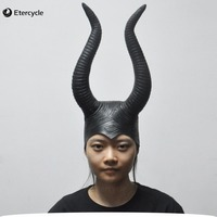 Women S Silicone Face Mask Angelina Cosplay Movie Maleficent Party Masquerade Rubber Latex Masks For Halloween