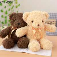 LYDBAOBO 1PC 30CM Schöne Teddybär Puppe Gefüllte Plüsch Weiche Tiere Kissen Puppe Spielzeug Hohe Qualität Simulation Kinder geburtstag Geschenke