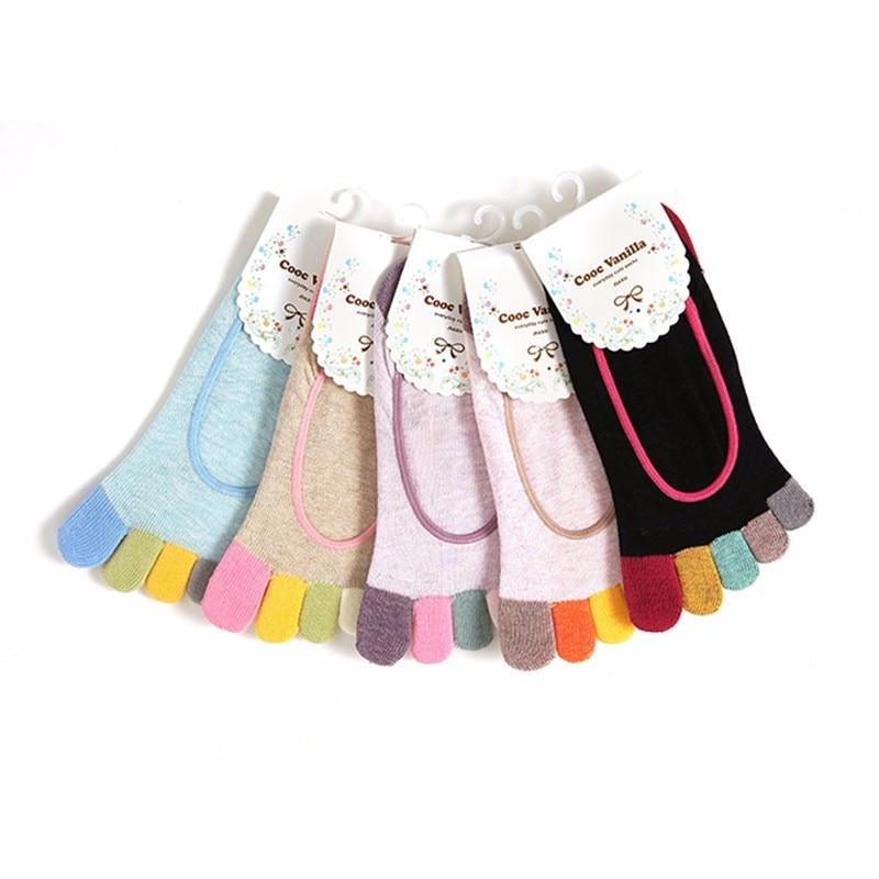 HTB1ttMNKVXXXXaEXFXXq6xXFXXXH - Women Ankle Socks Dance Exercise Five Fingers Socks Non Slip Calcetines Ciclismo Fitness