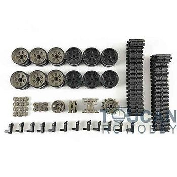 HengLong 1/16 Russian T90 RC Tank 3938 Plastic Tracks Sprocket Idler Road Wheels THZH0162