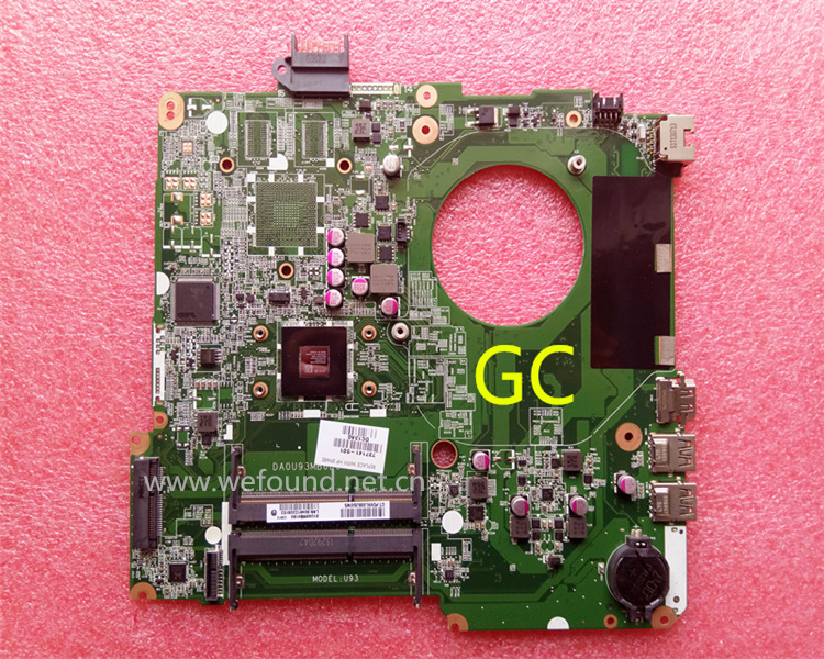 laptop Motherboard For 15-N DA0U93MB6D0 737141-001 737141-501 system mainboard Fully Tested