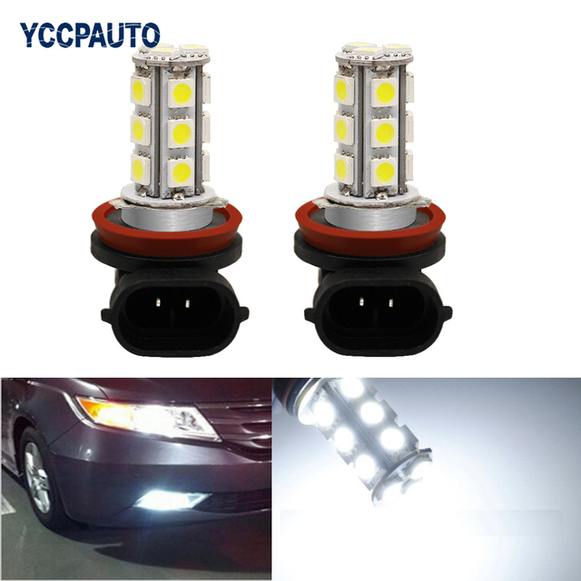 H11 h8 led verlichting auto auto dagrijverlichting for Led lampen auto