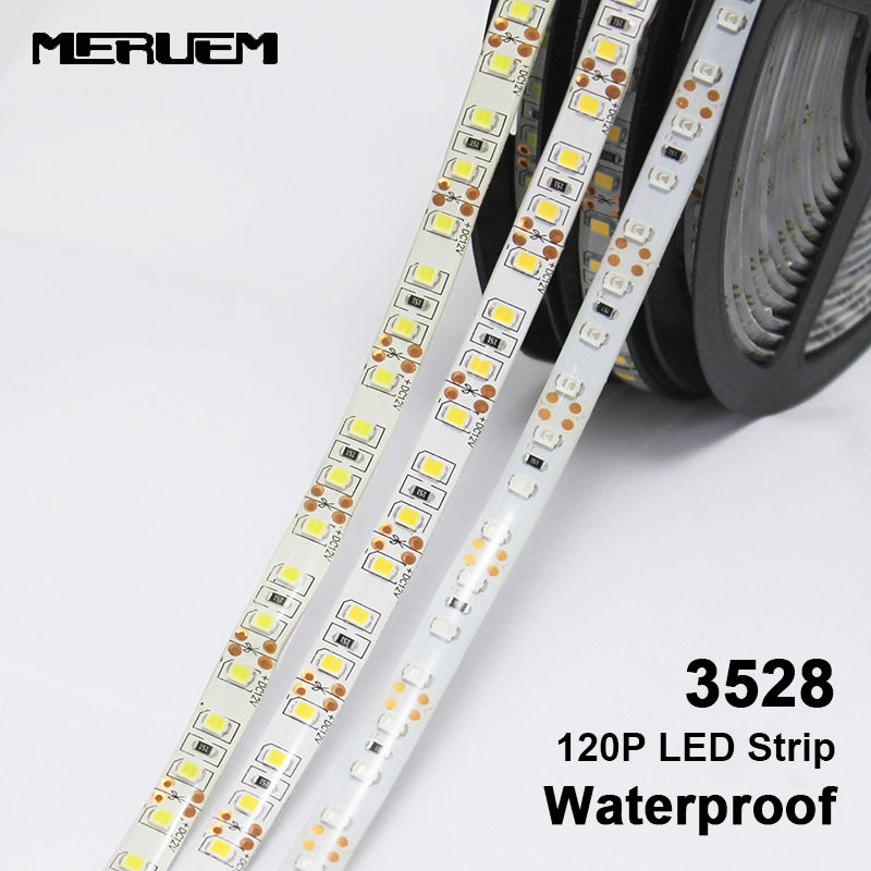 LED Strip 3528 / 2835 120 LED/m IP65 Waterproof DC12V Flexible LED Light 3528 / 2835 LED Strip.