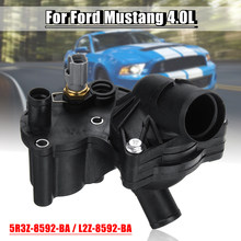 Car Front Thermostat Housing Assembly 5R3Z-8592-BA 2L2Z-8592-BA for Ford for Mustang 4.0L 2005-2010(China)
