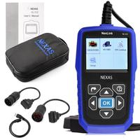 NEXAS NL102 OBD/EOBD Code Reader Diagnostic Scan professional tool For Car and Heavy Duty Truck 2 in 1 Scan Tool