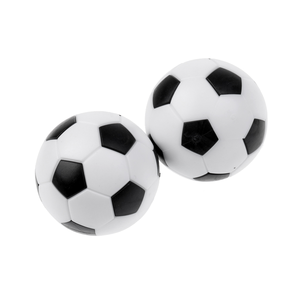 12 Pieces Foosball/Soccer Game Table Soccer Balls Foosballs Black/White for Boy Birthday Gift Accessories image