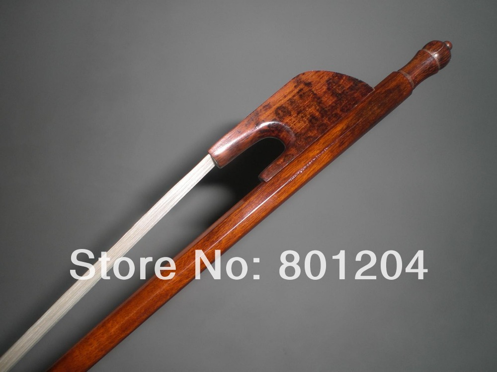 1 PC Beautiful baroque viola bow snake wood bow stick baroque bow snake wood frog