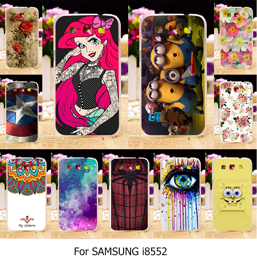 TAOYUNXI Silicone TPU Plastic Cover Case For Samsung Galaxy Win GT-i8552 GT I8552 i8550 i8558 8552 4.7 inch Cover Phone Case ...