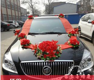 The Wholesale Wedding Car Decoration Packages Simulation Flower