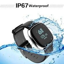 Мода пожилых Водонепроницаемый Смарт часы для родителей подарок сердечного ритма крови Давление монитор здоровья Смарт часы фитнес-трекер GPS