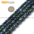 Lapis Lazuli Malachite Azurite Agate Stone Beads For Jewelry Making Dyed Color 6-12mm 15inch FreeShipping Wholesale Gem-inside