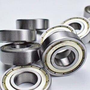 Image 3 - 6202ZZ 15*35*11 (mm) 10 parça ücretsiz kargo rulman ABEC 5 10 Adet metal sızdırmazlık rulmanlar 6202 6202Z 6202ZZ krom çelik rulman