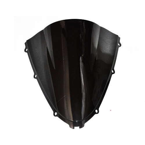 New Black Motorcycle Windshield Trim Shadow For Kawasaki ZX-14R 06-09 Windscreen Free Shipping [CK521]