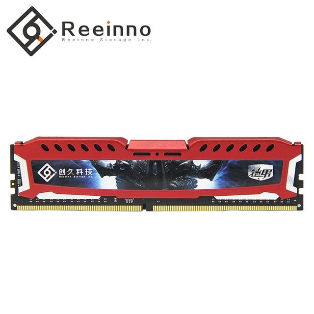 Reeinno Ram 4 GB/8 GB/16 GB DDR4 2400 MHz 1,2 V PC4-19200 17-17-17-39 CL = 17 Тип интерфейса 288pin одиночный модуль оперативной памяти Desktop памяти В наличии