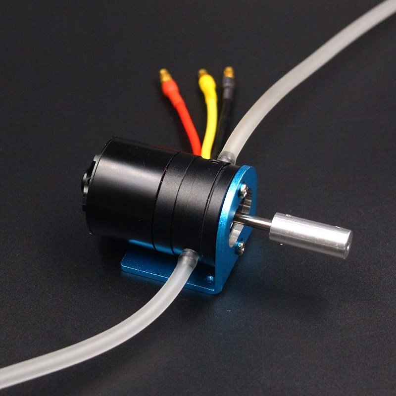 1Set Metal Water Cooled Brushless Motor 1700KV 3536 Motors with 125A ESC/Coupling/Motor Seat for RC Electric Gasoline Boats