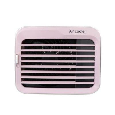 Portable ventilateur de refroidissement humidificateur réfrigération bureau climatisation ventilateur ménage petit ventilateur électrique bureau USB Table d'alimentation - 6