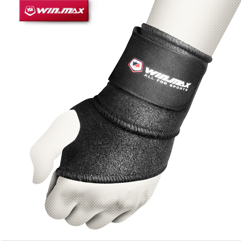 WINMAX Protector Serie Weight lifting Palm Guards Brace Sport Wrist Support Hand Protector Neoprene palm Wrist Support