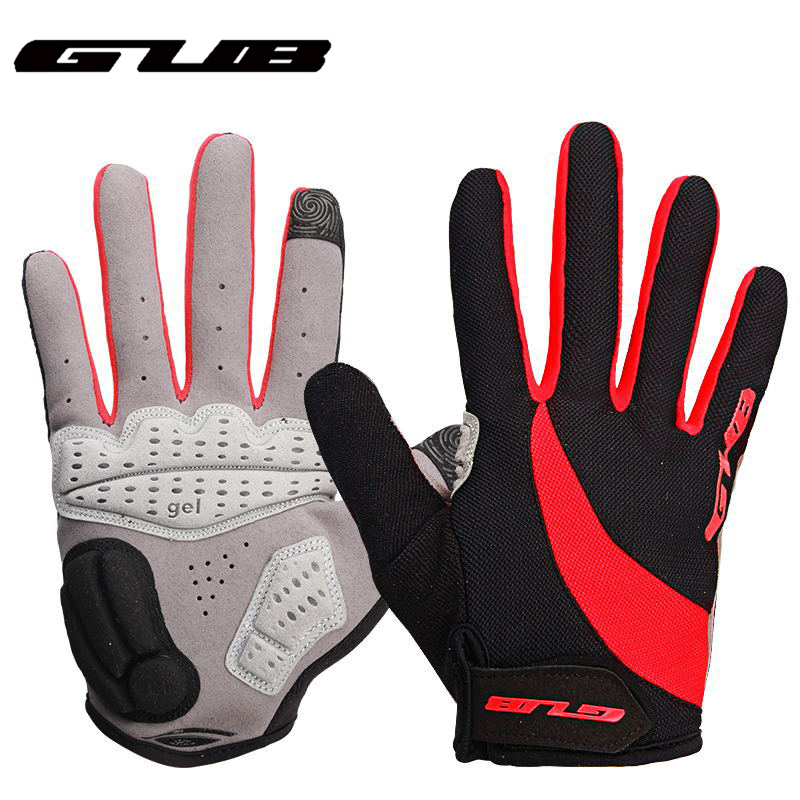 GUB Touch Screen <font><b>Bike</b></font> <font><b>Gloves</b></font> <font><b>GEL</b></font> Full Finger <font><b>Mountain</b></font> Mtb <font><b>Bike</b></font> Sports <font><b>Gloves</b></font> Cycling Bicycle <font><b>Gloves</b></font> Motorcycle <font><b>Gloves</b></font> image