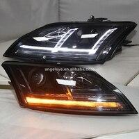 Luz de cabeza LED para Audi TT lámpara de cabeza LED 2007-2013 año SN