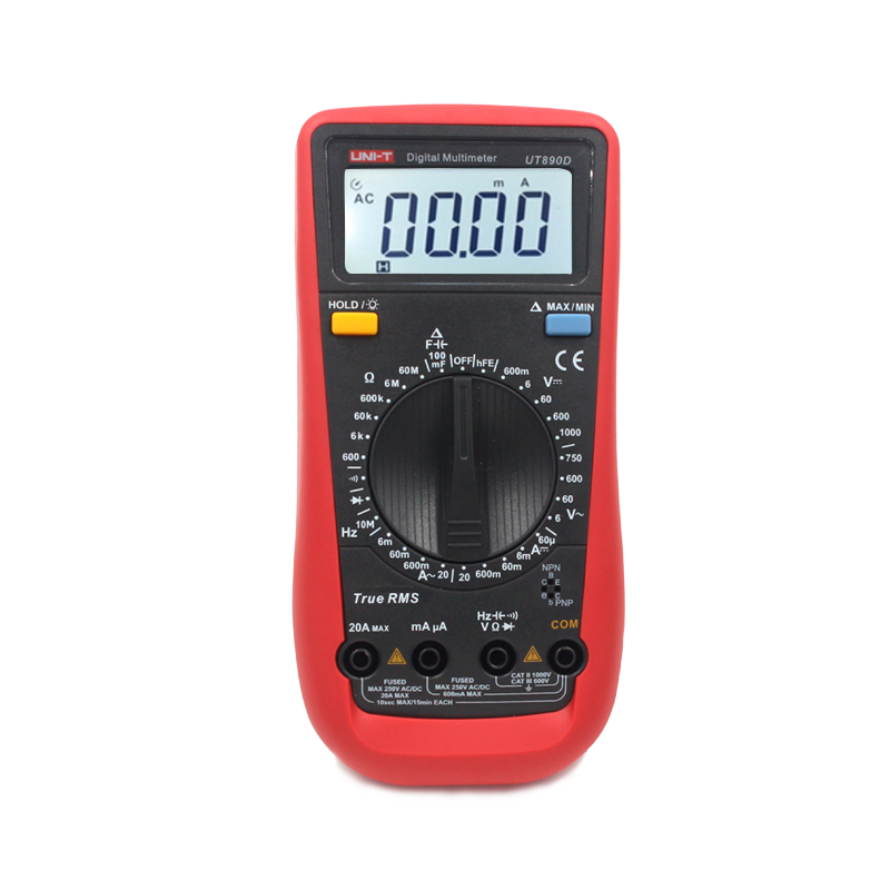 True Rms Meter : Uni t ut d digital multimeter true rms ac dc voltmeter