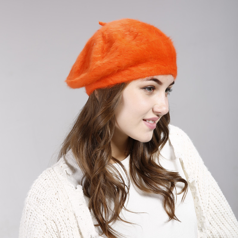 New Brand Beret Christmas New Year Gift Winter All Matched Warm Walking Hat Women Cap