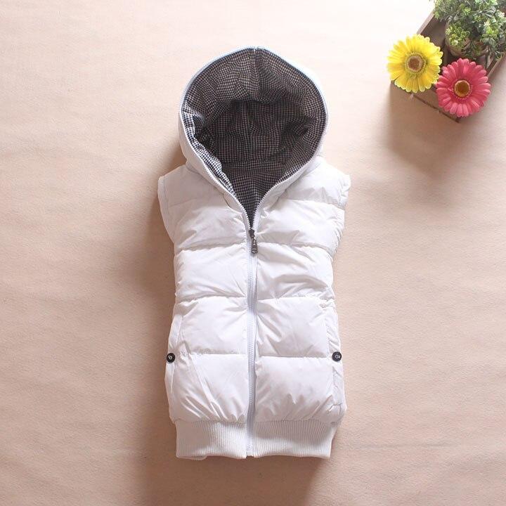 Milenci design oboustranný s kapucí zahušťující dámskou vesta vesty podzim a zima plus dostupná velikost XXXL - 5XL