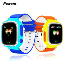 GPS Smart Watch Baby Watch Q90 With Wifi Touch Screen SOS Call Location DeviceTracker Smartwatch For Kid Safe Anti-Lost Monitor