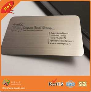 Top 10 most popular cheap metal business cards laser cut custom metal business cards 2017 cutting through stainless steel metal reheart Choice Image
