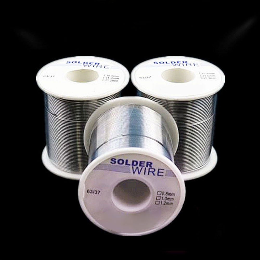 Solder Wire 200g 1.0/0.8 Mm Welding Wire Tin Wires 63/37 Rosin Core Solder Good Welding-ability Flux 1.8% For Electrician DIY T2