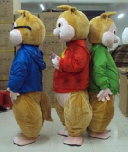 BING RUI CO Shitje e nxehtë! Kostum nuskie Alvin dhe Chipmunks New - Kostumet - Foto 2