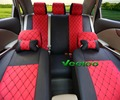 Veeleo +7 Colors Universal Car Seat Covers For Mitsubishi lancer 10 lancer 9 galant asx pajero sport Car Cover accessories