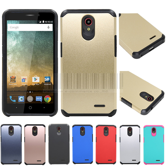 best website e2271 6d09f US $6.34 |Phone Case For ZTE Prestige N9132/Maven 2/Sonata 3 Slim Hybrid  Shockproof Impact Protective Armor Case Hard PC Silicone Cover-in Fitted ...
