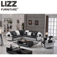 Chesterfield Living Room Leisure Sofa Divany Office Sofa Wholesale Luxury Furniture Set Modern Chair Modern Couche+Coffee Table