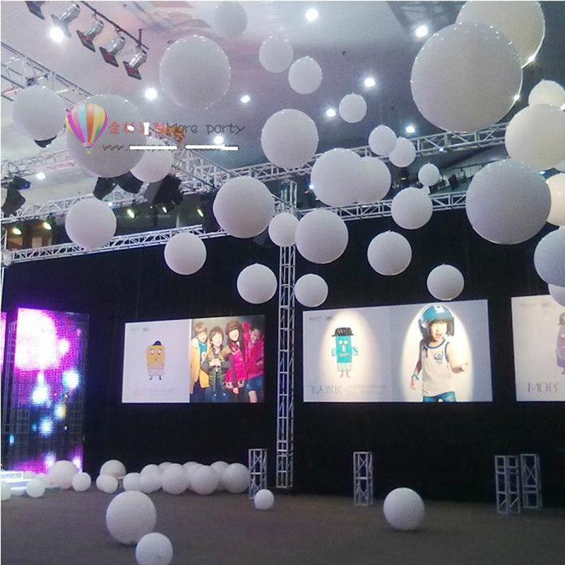 Buy 5pc lot 36 inches white giant for Balloon decoration birthday party hyderabad