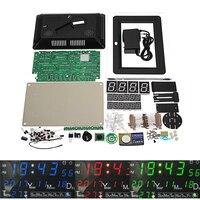 DC 9 12V Electronic Calendar Soldering Kit High Precision DIY Clock Kit