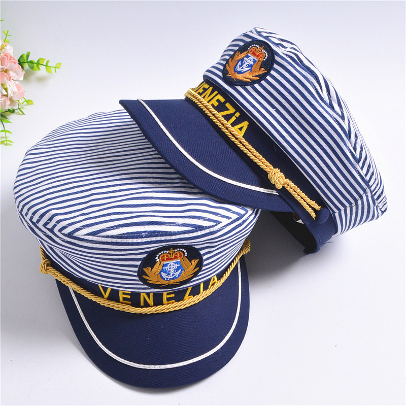 Spring Mother Father Daughter Son Flat Top Hat Family Matching Navy Caps  Family Look Party Beach Sun Hollow Breathable Hats-in Matching Family  Outfits from ... b6e73f603bf