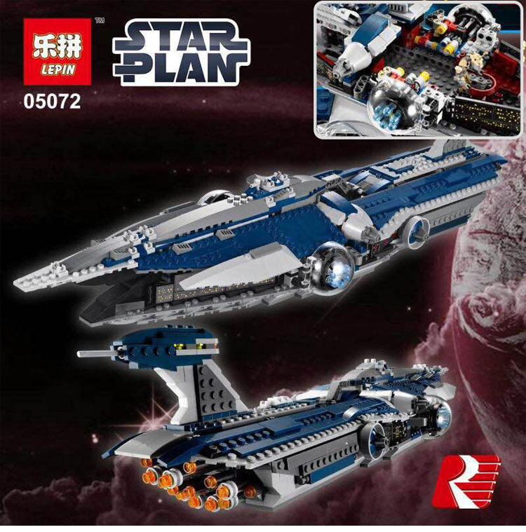 Lepin 05072 1192Pcs Star War Series The Limited Edition  Warship Set Children Building Blocks  Toys Model Compatible legoed 9515 new mf8 eitan s star icosaix radiolarian puzzle magic cube black and primary limited edition very challenging welcome to buy