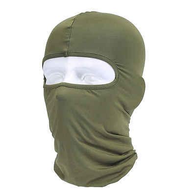 المملكة المتحدة أسود بالاكلافا قناع تحت خوذة الشتاء الدافئة الجيش نمط الرقبة أدفأ ليكرا القبعات ل هالوين