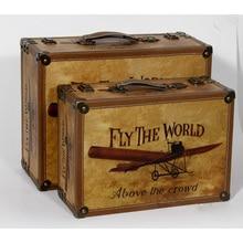 Storage Box Wooden Storage Box Suitcase Makeup organizer Caixa Organizadora Cajas organizadoras Caixa Joyeria Boite de rangement
