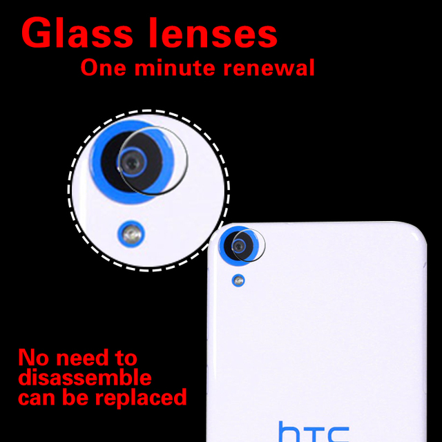 best loved 79c7a 7ba02 Aliexpress.com : Buy Camera Lens Protective Tempered Glass Film For HTC  Desire 820 D820u 820Q Clear Anti scratch Rear Camera Glass Film Cover from  ...