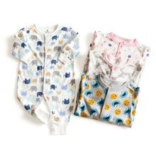 Пасхальная одежда с кроликом для девочек; Одежда для маленьких мальчиков; комбинезоны; хлопковая одежда для маленьких девочек; pakaian bayi; костюм для новорожденных мальчиков