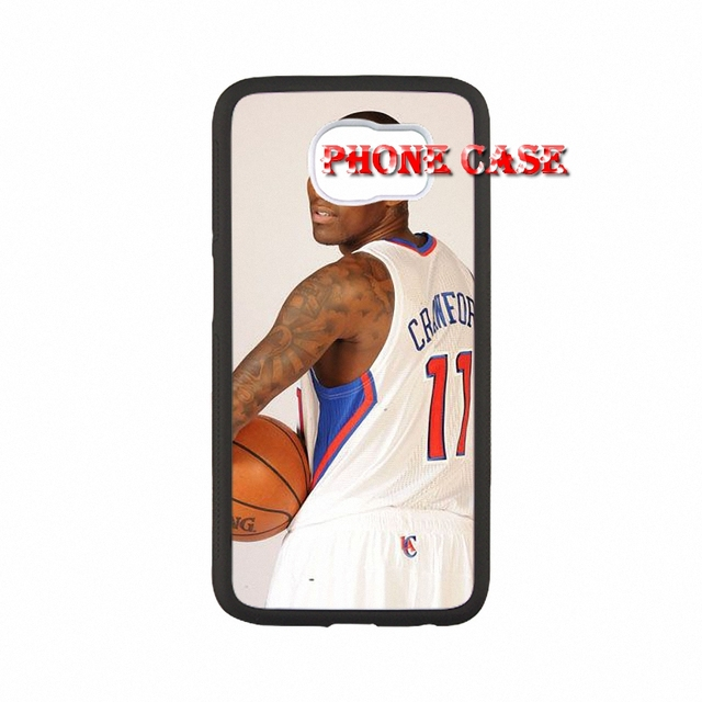 Bags Cases Jamal Crawford Los Angeles Clippers For iPhone SE 5 5s 6s plus Cute Back Black Hard